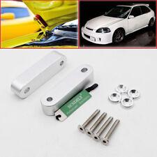 For 88-00 Honda Civic EG EK EM Motor Swap Hood Vent Riser Spacer Set Kit Silver