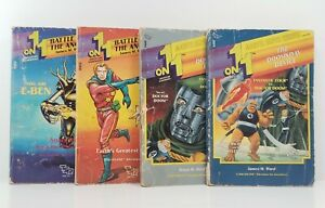 TSR 1-on-1 Gamebook Lot - The Doomsday Device & Battle For The Ancient Robot