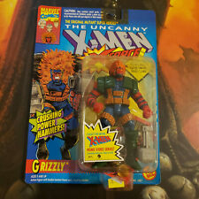 Toybiz Uncanny X-Men X-Force Marvel Steel Mutants Grizzly Action Figures MOC's
