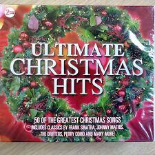 2CD NEW SEALED - ULTIMATE CHRISTMAS HITS Xmas Pop Songs Carols Music 2x CD Album