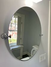 "Oval Tilt Mirror - 19"" by 26"""