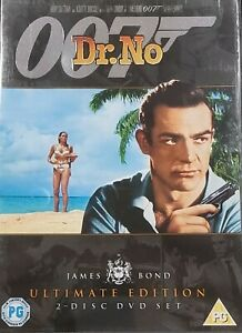 007 - Dr No DVD - Ultimate Edition (Region 2, 2 Disc Set) Free Post