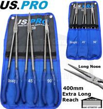 US PRO Tools 3pc 400mm Extra Long Reach & Long Nose Plier Set, Pliers NEW 2259