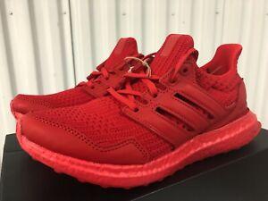 Wmn Adidas Ultraboost DNA Triple Lush Red October 6.5 FX1334 Fashion Sneaker Run