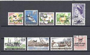 COOK ISLANDS 1966 SG 185/93 USED Cat £32