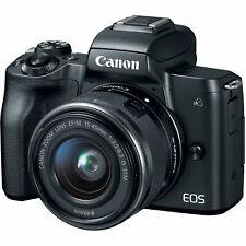 "paypal Canon eos m50 15-45mm 24.1mp 3"" agsbeagle"
