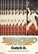 SATURDAY NIGHT FEVER 1977 John Travolta - Movie Cinema Poster Film Art Print