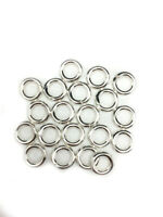 925 Sterling Silver Open Jump Ring Round 14 Gauge Inside dimension 3.5 - 13.0 mm