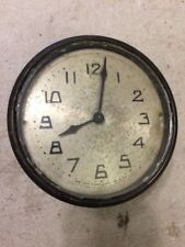 NEW HAVEN  WIND UP MINI BANJO CLOCK MOVEMENT, DIAL & BEZEL WITH GLASS, HANDS