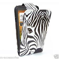 Faccia ZEBRA Flip Custodia Pelle PU copertura per Samsung GT-i9300 Galaxy S3 + SP