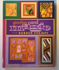 Greeting Card Magic with Rubber Stamps by McGraw, Mary Jo