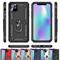 For Apple iPhone 11 Pro Max SE2 (2020) Case Shockproof Armor Ring Stand Cover