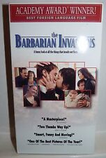The Barbarian Invasions (VHS, Best Foreign Language Film) French with English Su