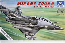 ITALERI 0023 1/72 Mirage 2000D Strike Fighter