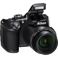 Pre Easte Deals Retail Box Sale Nikon Coolpix B500 16.0 Mp Digital Camera Black