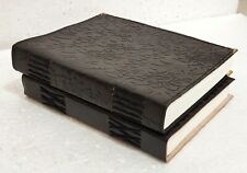 Leather Journal Diary Notebook Blank Travel Notepad Handmade Journal Lot of 2