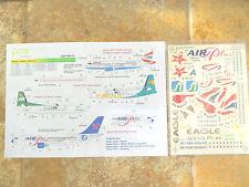 "FOKKER F-27/A-310/319/320 ""BRITISH AIRWAYS/BRAZIL CENTRAL/EAG"" FCM DECALS 1/144"
