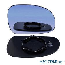 Spiegelglas für PEUGEOT 406 1996-2004 rechts sphärisch blau beifahrerseite