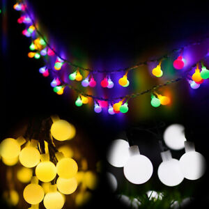 5m LED Berry Ball Xmas Bulb Fairy String Lights Christmas Lamp Party Decoration