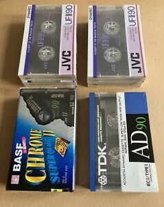 Lot Cassettes Audio Neuve 90 Minutes Basf Tdk Jvc