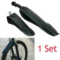 1Pair Bike Bicycle Mudguard Front Rear Mud Guard Protector Fender Mudflaps Set