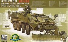 AFV Club 1/35 M1132 Stryker Engineer Squad Vehicle SMP Surface Mine Plow # AF351