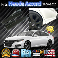 Fits Honda Accord 2008-2020 Carbon Fiber Style Side Skirts Spoiler Diffuser Wing