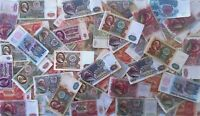 100+ Russia USSR 1961-1993 set of rubles banknotes. Low grade. Best price!