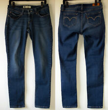 Levi's Bold Curve Stretch Skinny Blue Denim Jeans 13 JR  M