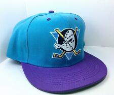 ANAHEIM MIGHTY DUCKS HAT NHL COLLECTION CAP BLUE CLEARANCE