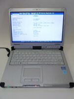"Panasonic Toughbook CF-C2 12.5"" , Core i5-3427U, 1.8 GHz, 4gb , 64GB SSD"