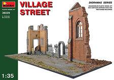 MiniArt 1/35 36029 Village Street (WWII Military Diorama)