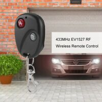 Smart Learning Code Garage Door 433MHz RF Remote Control Wireless Transmitter
