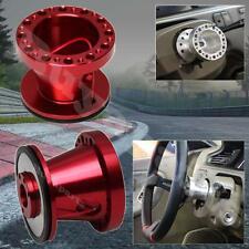 Red Billet Steering Wheel Hub Adapter Toyota Corolla Celica Cressida Pickup MR2