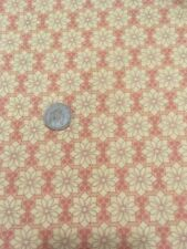 100 Cotton Quilting Craft Andover Fabric 7486 Orange Floral