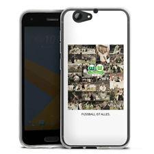 HTC One A9 s Silikon Hülle Case HandyHülle - VfL Wolfsburg Multipic