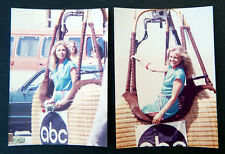 Lot of 2: CHERYL LADD Vintage Color Photographs CHARLIE'S ANGELS photos ABC