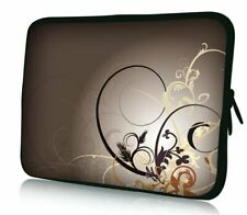 Laptoptasche Designer Schutzhülle Sleeve aus Neopren für Notebooks bis 15,4 Zoll