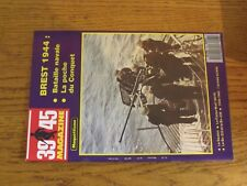 $$$ Revue Heimdal 39/45 Maquettisme N°43 Brest 1944SextonFW 190 F8Bv-222