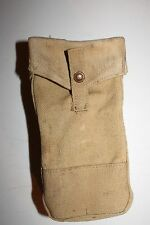 WW2 CANADIAN ARMY CANVAS AMMO/GRENADE POUCH, 1943 DATED
