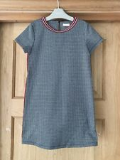 NEXT *8y GIRLS CHECKED Autumn Winter DRESS AGE 8 YEARS