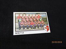FC METZ   Equipe Image sticker N° 128  FOOTBALL 85 PANINI 1985