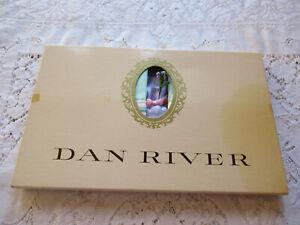 Vintage Dan River Pillowcases In Box NOS Vintage Muslin Pillowcases Green Stripe