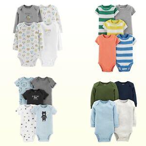 Bodysuits / Tees Carters Preemie Baby Boy 5Pk Short Sleeve - 4Pk Long Sleeve New