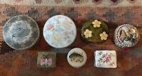Trinket Boxs Hammersley England Bouquet Made In England India Japan And Others