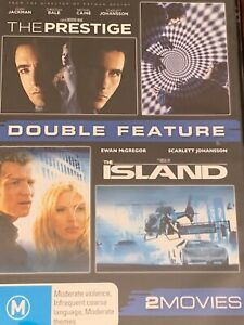 The Prestige Hugh Jackman/The Island Ewan McGregor  DVD