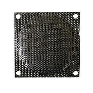 120mm  Black Steel Mesh Fan Filter/Guard, Small Hole