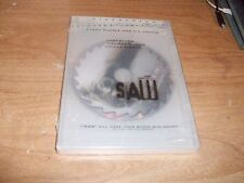 (2) Saw (DVD Movie 2005, WS) + Saw 4 (DVD, 2008, WS Unrated Director's Cut) NEW