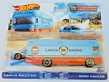 Hot Wheels Lancia Rally 037 Euro Hauler - 2021 Team Transport
