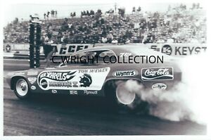 "1970s Drag Racing-Tom ""Mongoose"" McEwen-1972 Duster AA/Funny Car-""MONGOOSE II"""